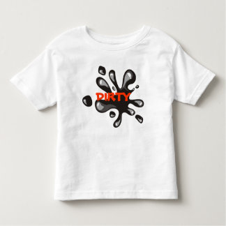 Let's get Dirty Toddler tee
