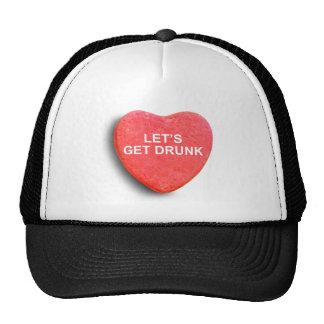 LET'S GET DRUNK TRUCKER HATS