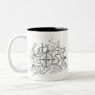 Let's Get Lost - Adventure Typography | Mug