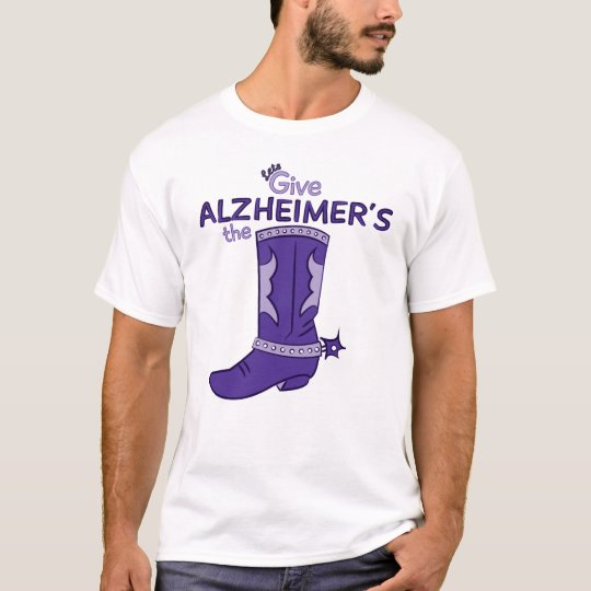 Let's Give Alzheimer's the Boot #1 Shirt