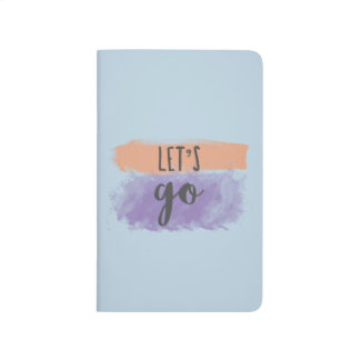 Lets Go | Artist/Writer Pocket Journal