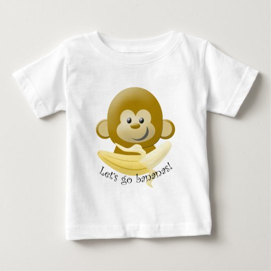 Let's Go Bananas! Baby T-Shirt