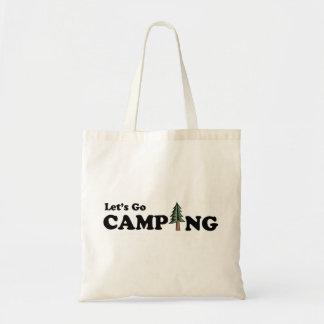 Let's Go Camping Bag