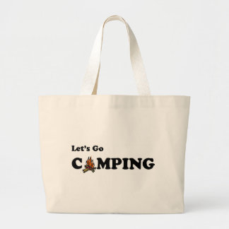 Let's Go Camping Camp Fire Bag