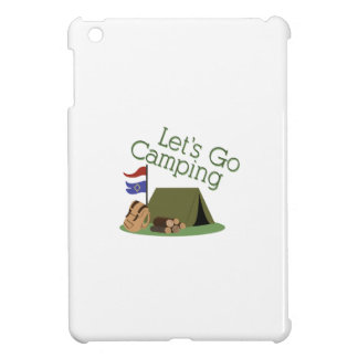 Lets Go Camping Cover For The iPad Mini