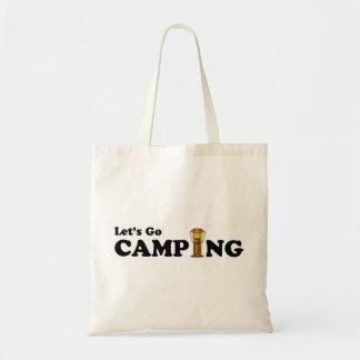 Let's Go Camping Lantern Bag