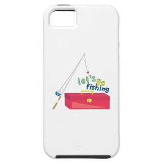 Lets Go Fishing iPhone 5 Covers
