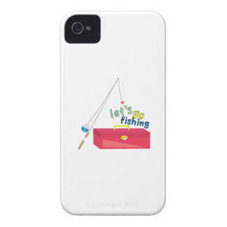 Lets Go Fishing iPhone 4 Case-Mate Case