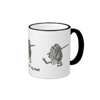 Let's go fishing dad ! coffee mugs