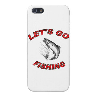 Lets go fishing iPhone 5/5S case