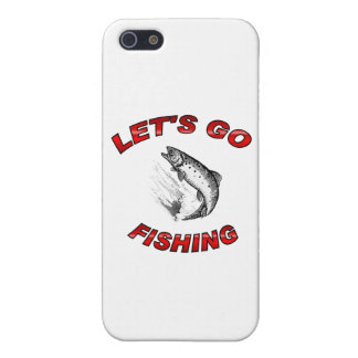 Lets go fishing iPhone 5 case