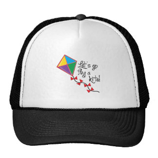 Lets Go Fly a Kite Cap