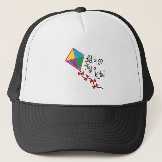 Lets Go Fly a Kite Trucker Hat