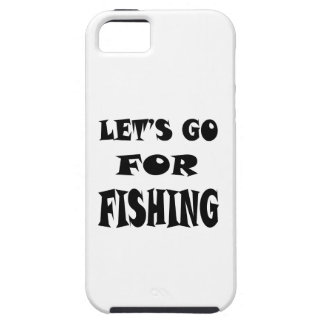 Let's Go For FISHING iPhone 5 Case
