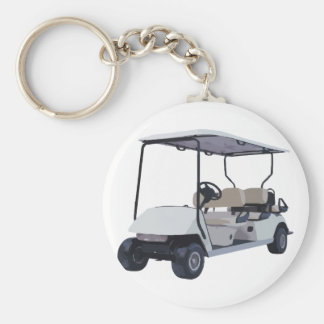 Let's Go Golfing Key Ring