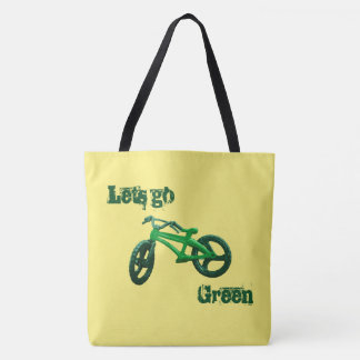 Lets go Green Tote Bag