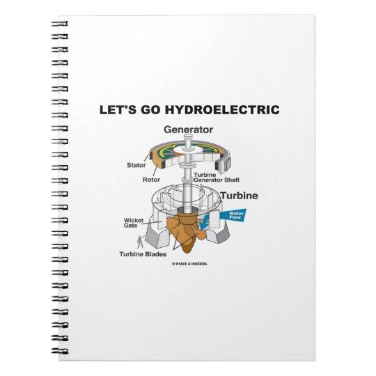 Let's Go Hydroelectric (Generator Turbine) Notebook