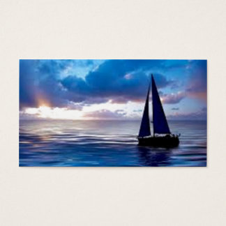 Let's Go Sailing Business Card