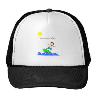 Let's Go Surfing Cap