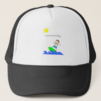 Let's Go Surfing Trucker Hat