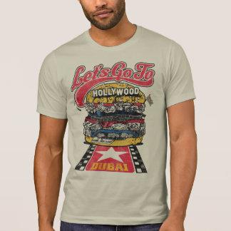 Let's Go To Hollywood! - Biker Burger T-shirt