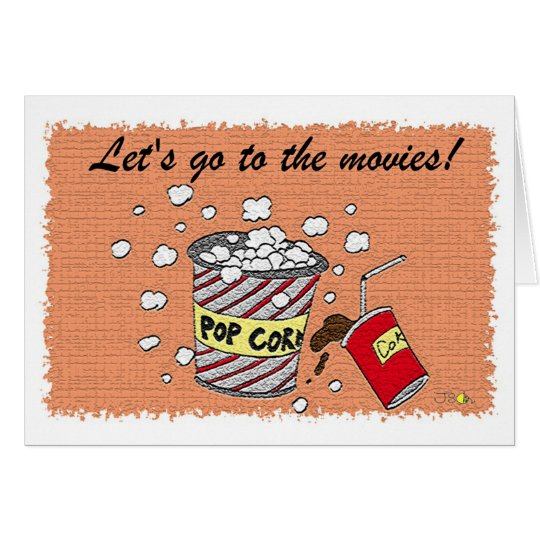 Let's go to the movies! card