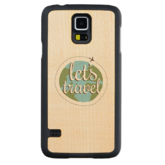 Lets Go Travel Maple Galaxy S5 Case