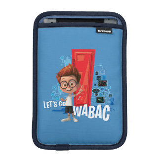 Let's Go Wabac iPad Mini Sleeve