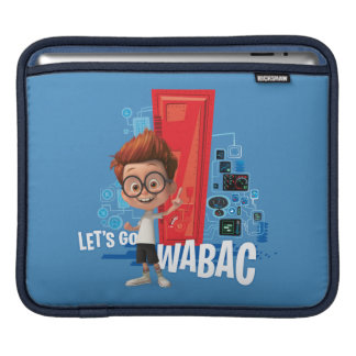 Let's Go Wabac iPad Sleeve