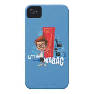 Let's Go Wabac iPhone 4 Case