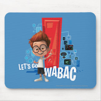 Let's Go Wabac Mouse Pad