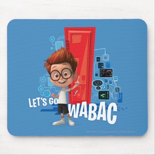 Let's Go Wabac Mouse Pads