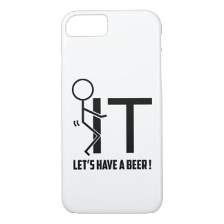 Lets Have A Beer Funny Phonecase iPhone 8/7 Case