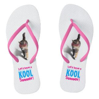 Let's have a Kool Summer Flip Flops