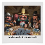 Let's have a look at them cards! print