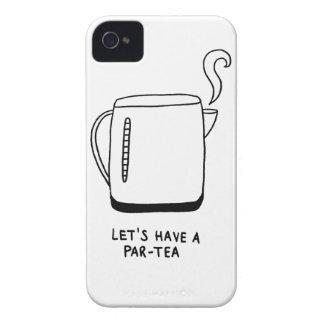 Let's Have a Par-Tea iPhone 4 Case-Mate Case
