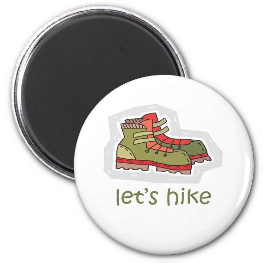 Let's Hike Magnet