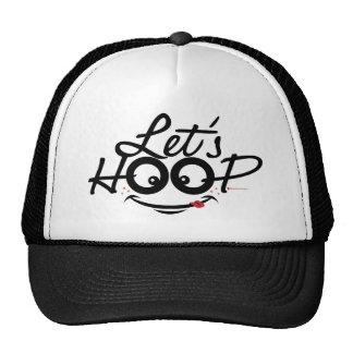 Let's Hoop! hat