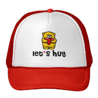 Let's Hug Mesh Hat