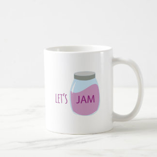 Lets Jam Basic White Mug