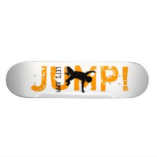 Let's Jump! Happy Child Skateboard