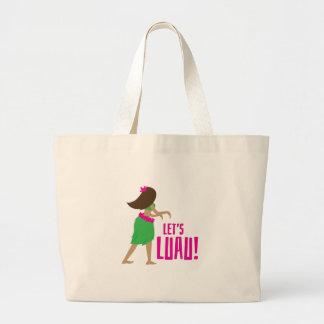 Lets Luau Tote Bag