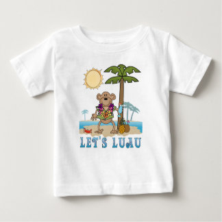 Lets Luau (Boy Monkey) Baby T-Shirt