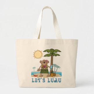 Lets Luau (Girl Monkey) Bags