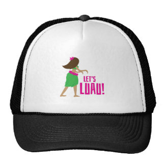 Lets Luau Hats