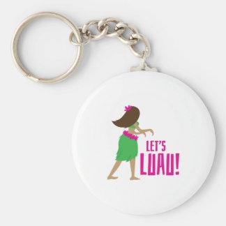Lets Luau Key Chain