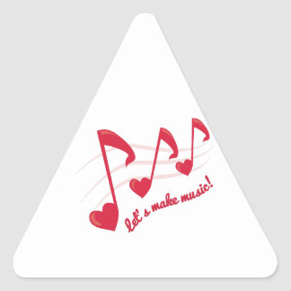 Let's Make Music! Stickers