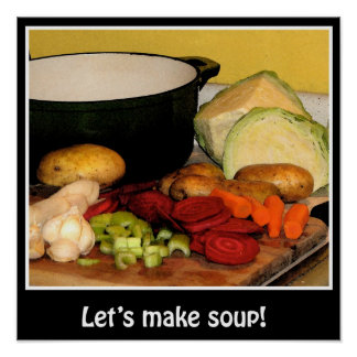 Lets make soup! Poster
