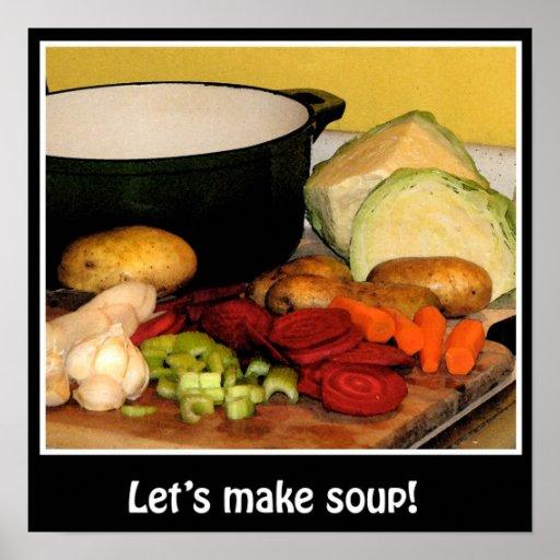 Let's make soup! poster