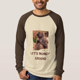 Let's Monkey Around Tshirts